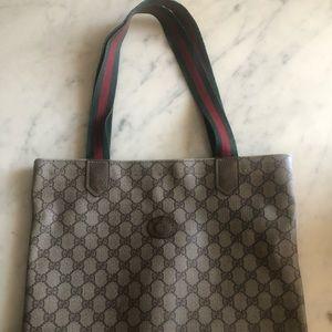 VINTAGE GUCCI SHOPPING BAG